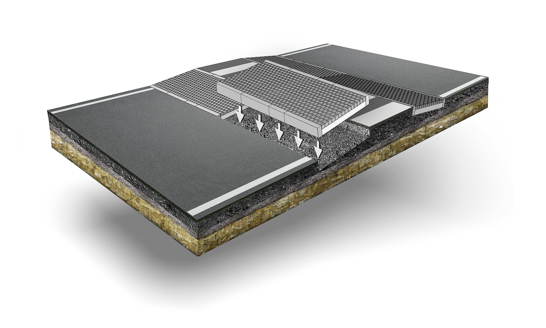 Terrakomp Illustrerad genomskärning