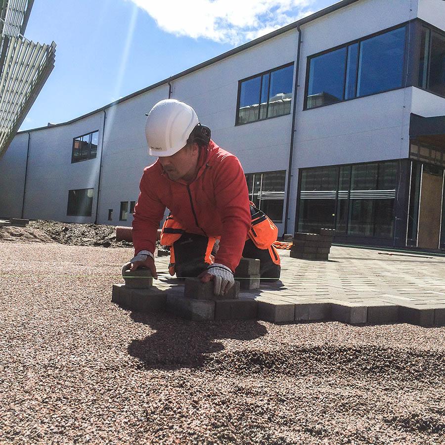 Stenteknik lägger sten vid framtidens operationshus