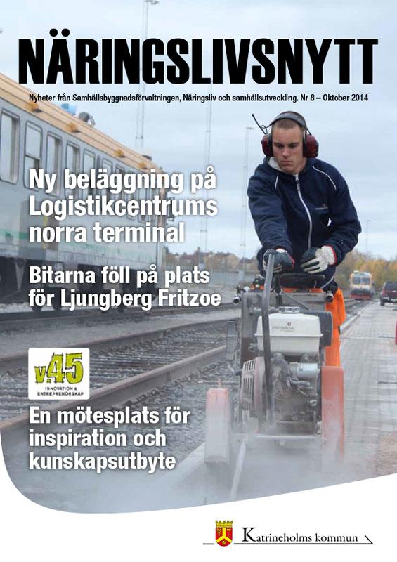Näringslivsnytt Katrineholm - Nr 8 2014