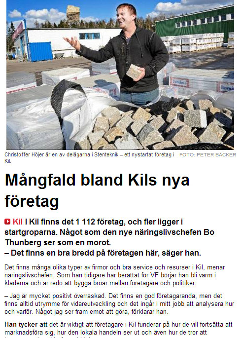 Värmlands Folkblad - 3:e April 2014