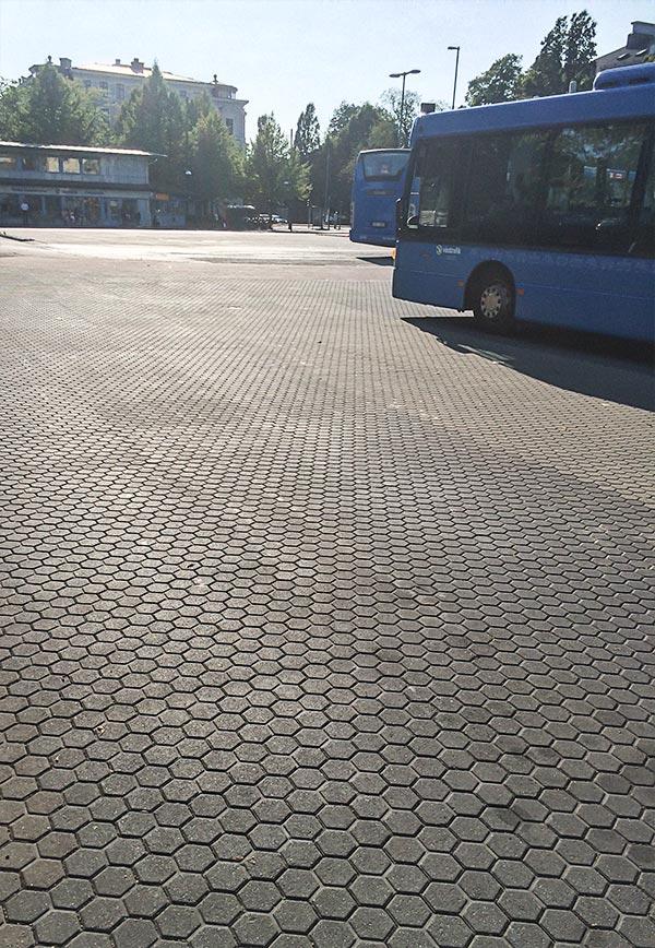 Bussterminal i Göteborg