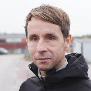 Anders Persson, säljare Terrakomp södra Sverige